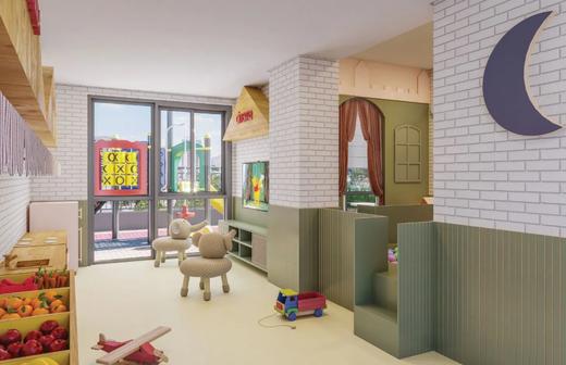 Brinquedoteca - Apartamento à venda Alameda dos Arapanés,Ibirapuera, São Paulo - R$ 1.007.900 - II-9123-18254 - 9