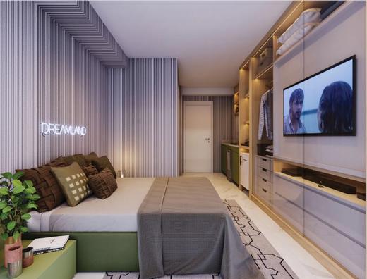 Dormitorio - Apartamento à venda Alameda dos Arapanés,Ibirapuera, São Paulo - R$ 1.007.900 - II-9123-18254 - 6