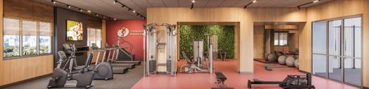 Fitness - Apartamento à venda Alameda dos Arapanés,Ibirapuera, São Paulo - R$ 1.007.900 - II-9123-18254 - 7