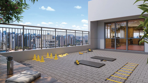 Fitness externo - Apartamento à venda Alameda dos Arapanés,Ibirapuera, São Paulo - R$ 1.007.900 - II-9123-18254 - 13