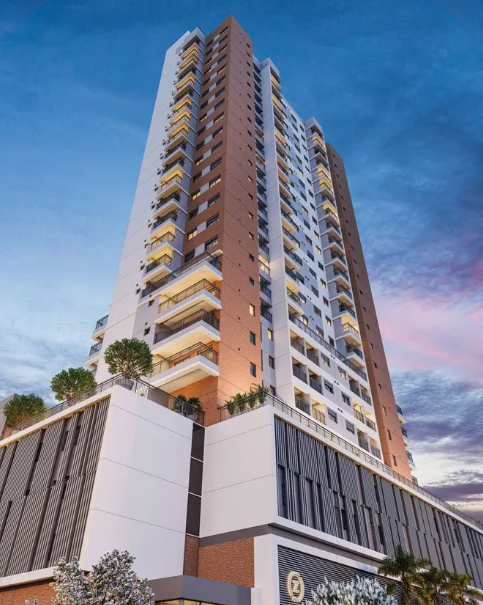 Fachada - Apartamento à venda Alameda dos Arapanés,Ibirapuera, São Paulo - R$ 1.007.900 - II-9123-18254 - 1