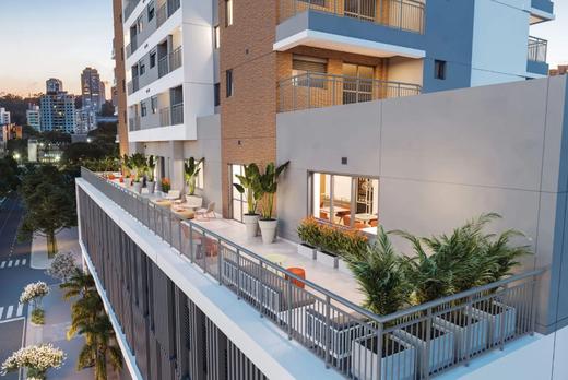 Aerea - Apartamento à venda Alameda dos Arapanés,Ibirapuera, São Paulo - R$ 1.007.900 - II-9123-18254 - 19