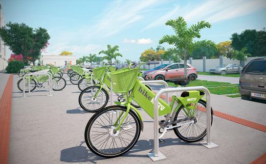 Bicicletario - Fachada - Rio Araras - 266 - 7