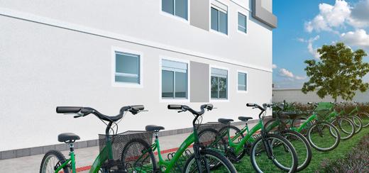 Bicicletario - Fachada - Residencial Amaro - 164 - 7