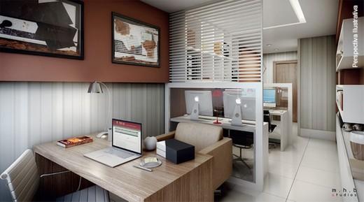 Exemplo sala - Sala Comercial 21m² à venda Campo Grande, Rio de Janeiro - R$ 136.000 - II-9236-18395 - 6