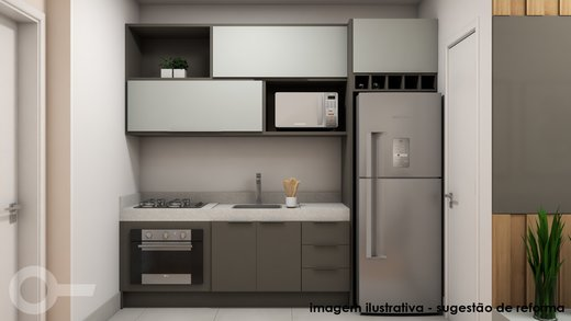 Cozinha - Apartamento à venda Alameda Franca,Jardim América, São Paulo - R$ 561.000 - II-7073-15841 - 3