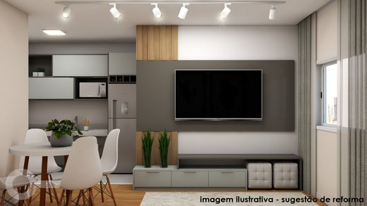 Living - Apartamento à venda Alameda Franca,Jardim América, São Paulo - R$ 561.000 - II-7073-15841 - 4