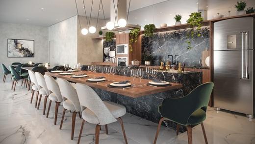 Espaco gourmet - Studio à venda Avenida Nazaré,Ipiranga, São Paulo - R$ 317.599 - II-9441-18631 - 8