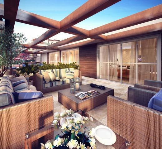 Lounge externo - Cobertura 3 quartos à venda Recreio dos Bandeirantes, Rio de Janeiro - R$ 949.000 - II-9369-18543 - 22