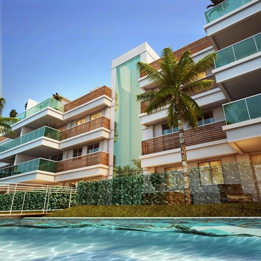 Fachada - Cobertura 3 quartos à venda Recreio dos Bandeirantes, Rio de Janeiro - R$ 949.000 - II-9369-18543 - 1