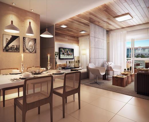 Living - Cobertura 3 quartos à venda Recreio dos Bandeirantes, Rio de Janeiro - R$ 949.000 - II-9369-18543 - 8