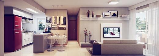 Living - Cobertura 3 quartos à venda Rio de Janeiro,RJ - R$ 949.000 - II-9369-18543 - 9