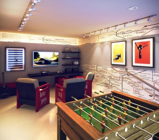 Sala de jogos - Cobertura 3 quartos à venda Rio de Janeiro,RJ - R$ 949.000 - II-9369-18543 - 19