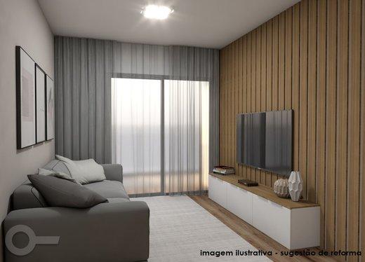 Living - Apartamento à venda Alameda Ministro Rocha Azevedo,Jardim América, Centro,São Paulo - R$ 624.000 - II-7477-16363 - 6