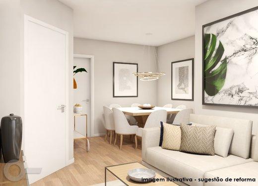 Living - Apartamento à venda Rua Carlos Weber,Vila Leopoldina, São Paulo - R$ 1.125.000 - II-7130-15932 - 6