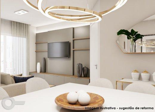 Living - Apartamento à venda Rua Carlos Weber,Vila Leopoldina, São Paulo - R$ 1.125.000 - II-7130-15932 - 7