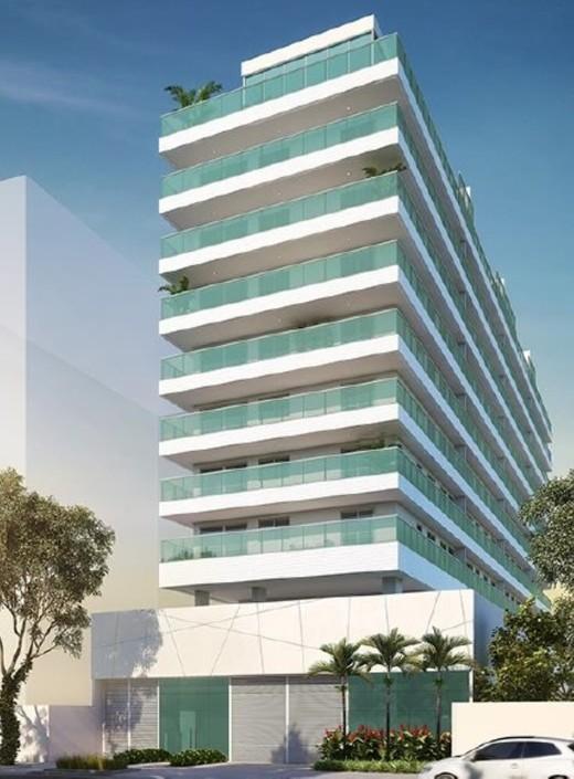 Fachada - Fachada - B Side Botafogo Residence - 147 - 1