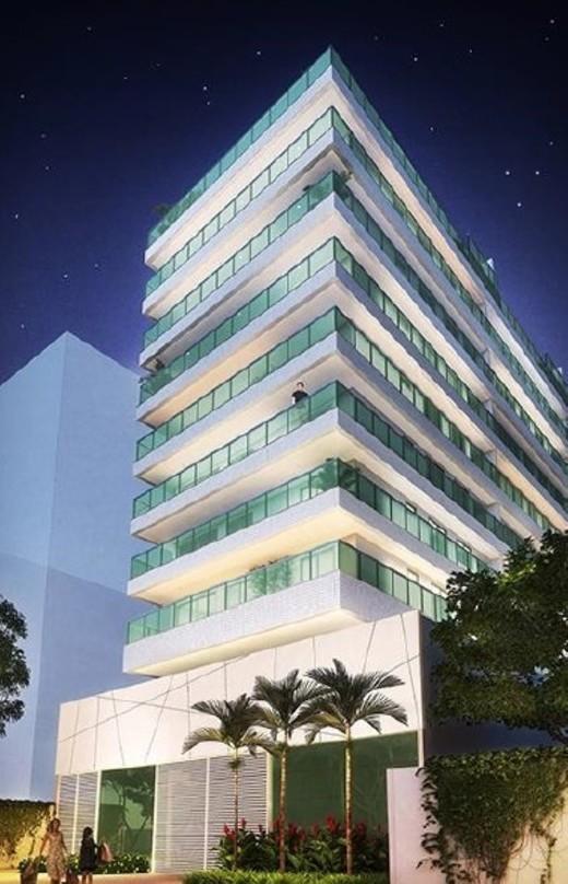 Fachada - Fachada - B Side Botafogo Residence - 147 - 2