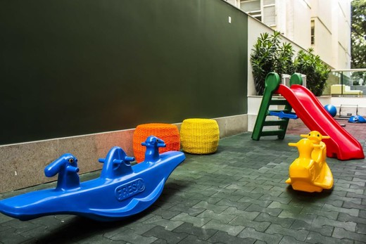 Playground - Fachada - B Side Botafogo Residence - 147 - 7