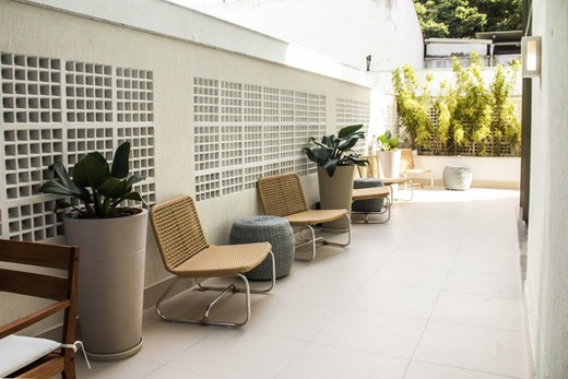 Praca - Fachada - B Side Botafogo Residence - 147 - 12