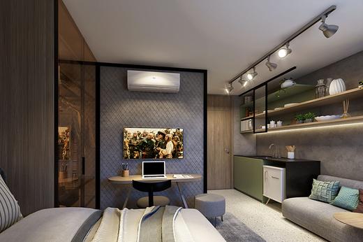Dormitorio - Fachada - W Be - Perdizes - Breve Lançamento - 720 - 4