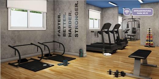 Fitness - Fachada - Vibra Interlagos - Breve Lançamento - 722 - 2