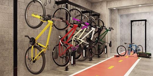 Bicicletario - Fachada - Vibra Interlagos - Breve Lançamento - 722 - 5