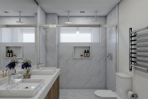 Banheiro - Apartamento à venda Alameda Franca,Jardim Paulista, São Paulo - R$ 2.990.000 - II-10017-19312 - 3