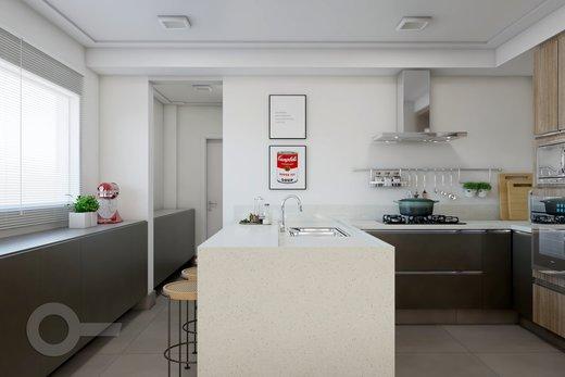 Cozinha - Apartamento à venda Alameda Franca,Jardim Paulista, São Paulo - R$ 2.990.000 - II-10017-19312 - 4