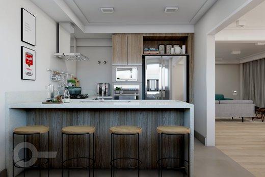Cozinha - Apartamento à venda Alameda Franca,Jardim Paulista, São Paulo - R$ 2.990.000 - II-10017-19312 - 5