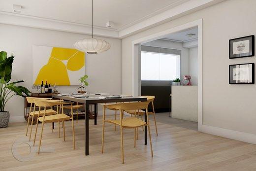 Living - Apartamento à venda Alameda Franca,Jardim Paulista, São Paulo - R$ 2.990.000 - II-10017-19312 - 6