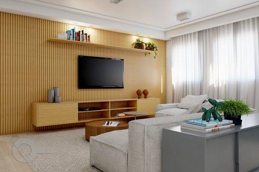 Living - Apartamento à venda Alameda Franca,Jardim Paulista, São Paulo - R$ 2.990.000 - II-10017-19312 - 7