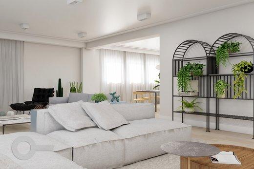 Living - Apartamento à venda Alameda Franca,Jardim Paulista, São Paulo - R$ 2.990.000 - II-10017-19312 - 8