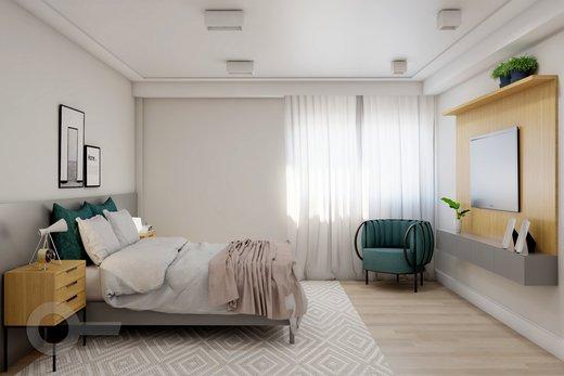 Quarto principal - Apartamento à venda Alameda Franca,Jardim Paulista, São Paulo - R$ 2.990.000 - II-10017-19312 - 9