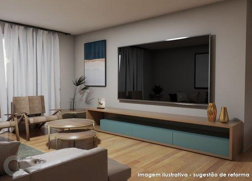 Living - Apartamento à venda Rua Doutor Gabriel dos Santos,Santa Cecília, São Paulo - R$ 1.430.000 - II-7255-16086 - 6