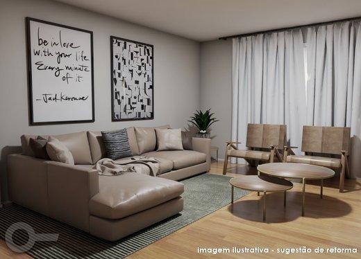 Living - Apartamento à venda Rua Doutor Gabriel dos Santos,Santa Cecília, São Paulo - R$ 1.430.000 - II-7255-16086 - 7