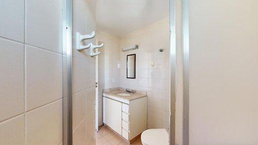 Banheiro - apartamento 2 quartos sao paulo sumaré, apartamento 2 quartos cum suíte sumaré, apartamento á venda 2 dormitórios Sumaré - II-10205-19543 - 4