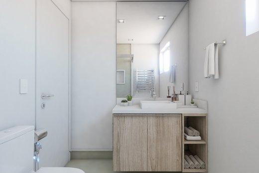 Banheiro - Apartamento à venda Rua Girassol,Vila Madalena, Zona Oeste,São Paulo - R$ 2.170.000 - II-10206-19544 - 3