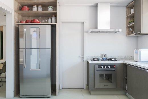 Cozinha - Apartamento à venda Rua Girassol,Vila Madalena, Zona Oeste,São Paulo - R$ 2.170.000 - II-10206-19544 - 4