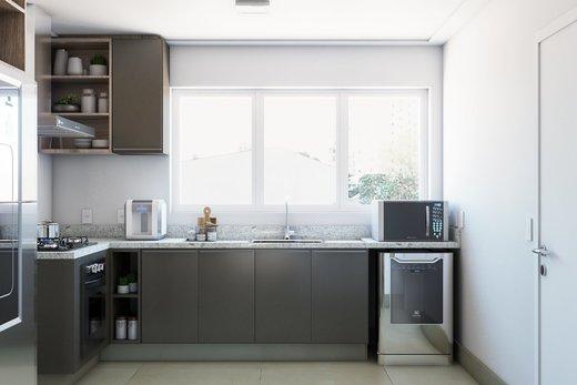 Cozinha - Apartamento à venda Rua Girassol,Vila Madalena, Zona Oeste,São Paulo - R$ 2.170.000 - II-10206-19544 - 5