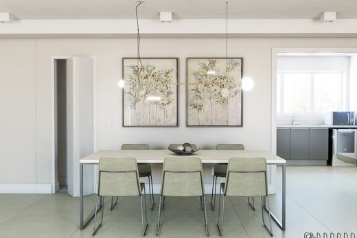 Living - Apartamento à venda Rua Girassol,Vila Madalena, Zona Oeste,São Paulo - R$ 2.170.000 - II-10206-19544 - 6