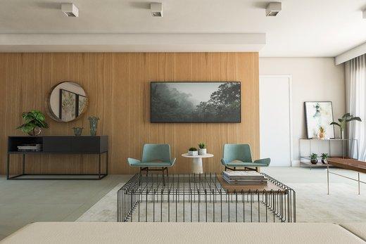 Living - Apartamento à venda Rua Girassol,Vila Madalena, Zona Oeste,São Paulo - R$ 2.170.000 - II-10206-19544 - 7