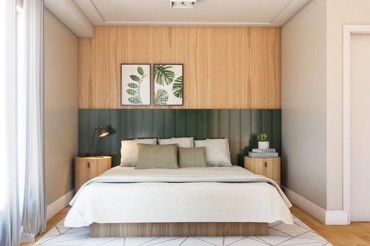 Quarto principal - Apartamento à venda Rua Girassol,Vila Madalena, Zona Oeste,São Paulo - R$ 2.170.000 - II-10206-19544 - 8