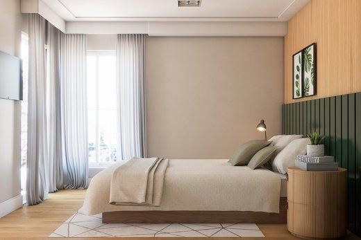 Quarto principal - Apartamento à venda Rua Girassol,Vila Madalena, Zona Oeste,São Paulo - R$ 2.170.000 - II-10206-19544 - 9