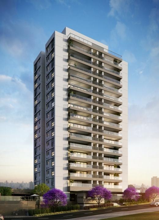 Fachada - Apartamento 4 quartos à venda Alto de Pinheiros, São Paulo - R$ 1.355.895 - II-10315-19725 - 1