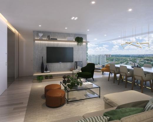 Living - Apartamento 4 quartos à venda Alto de Pinheiros, São Paulo - R$ 1.355.895 - II-10315-19725 - 4