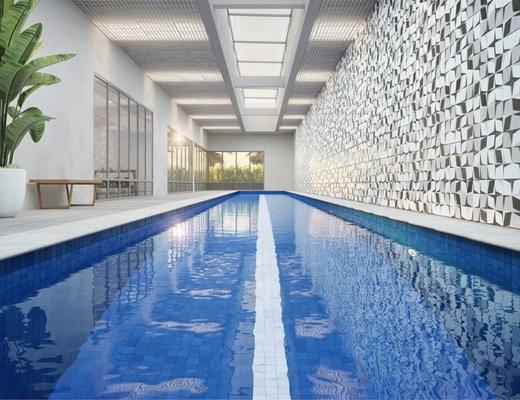 Piscina coberta - Apartamento 4 quartos à venda Alto de Pinheiros, São Paulo - R$ 1.355.895 - II-10315-19725 - 10
