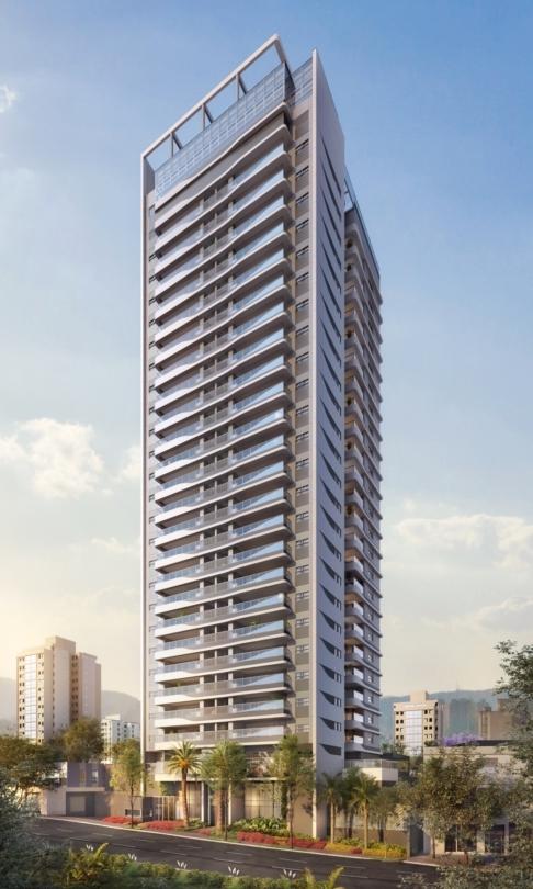 Fachada - Apartamento 1 quarto à venda Perdizes, São Paulo - R$ 653.603 - II-10318-19732 - 1