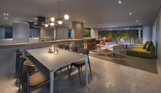 Salao de festas - Apartamento 1 quarto à venda Perdizes, São Paulo - R$ 653.603 - II-10318-19732 - 7