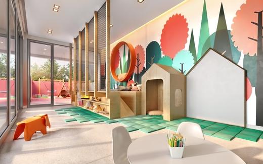 Brinquedoteca - Apartamento 1 quarto à venda Perdizes, São Paulo - R$ 653.603 - II-10318-19732 - 9